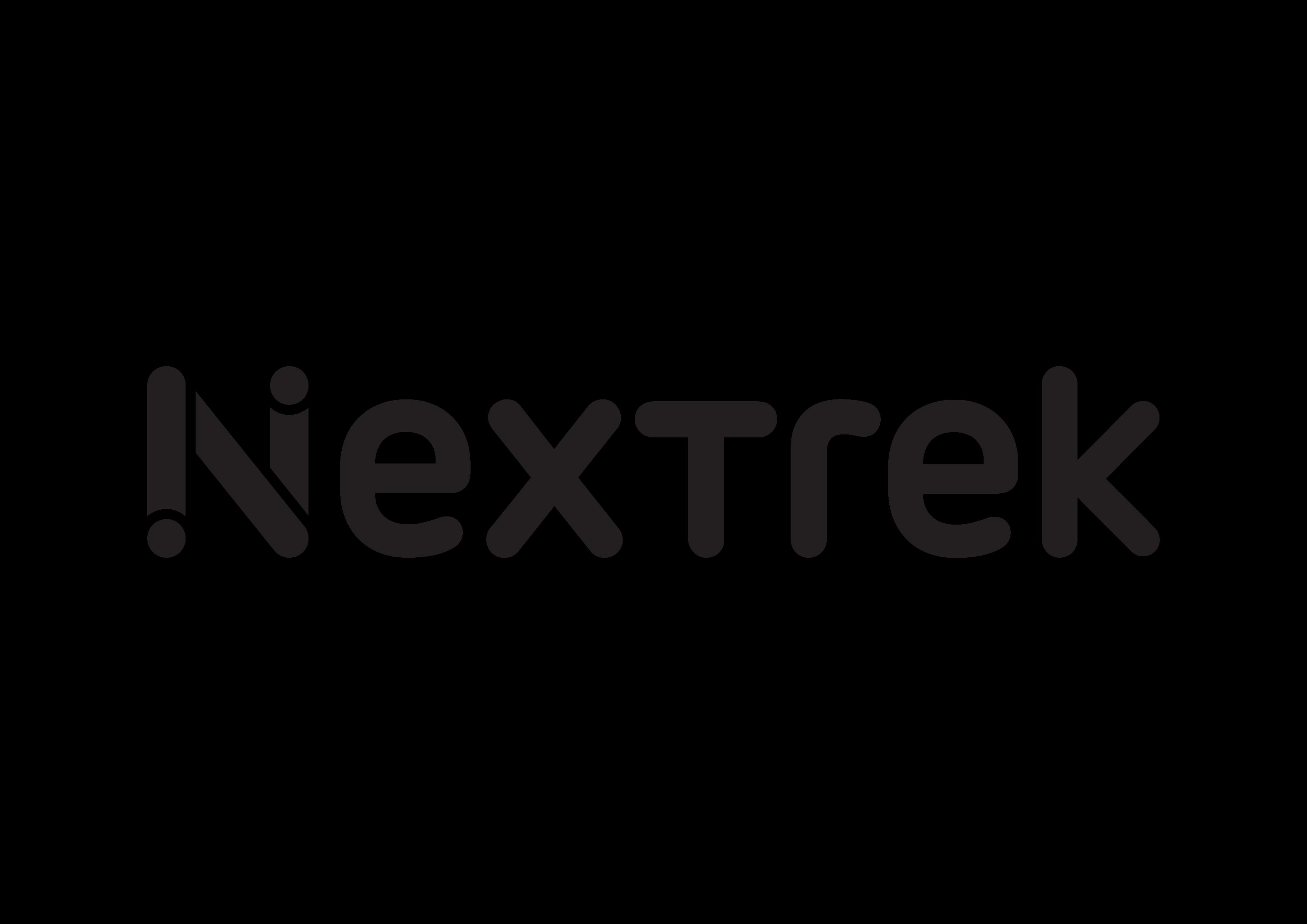 Nextrek Logo Mono Black Emma Lai