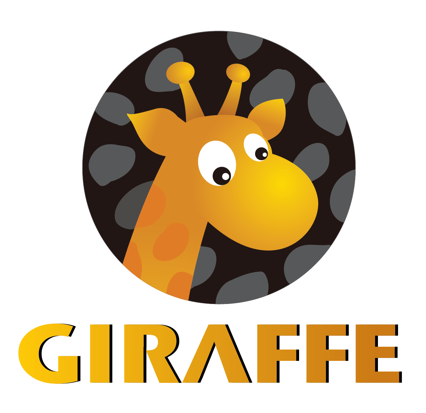 GIRAFFE LOGO 01 長頸鹿美語桃園管理處